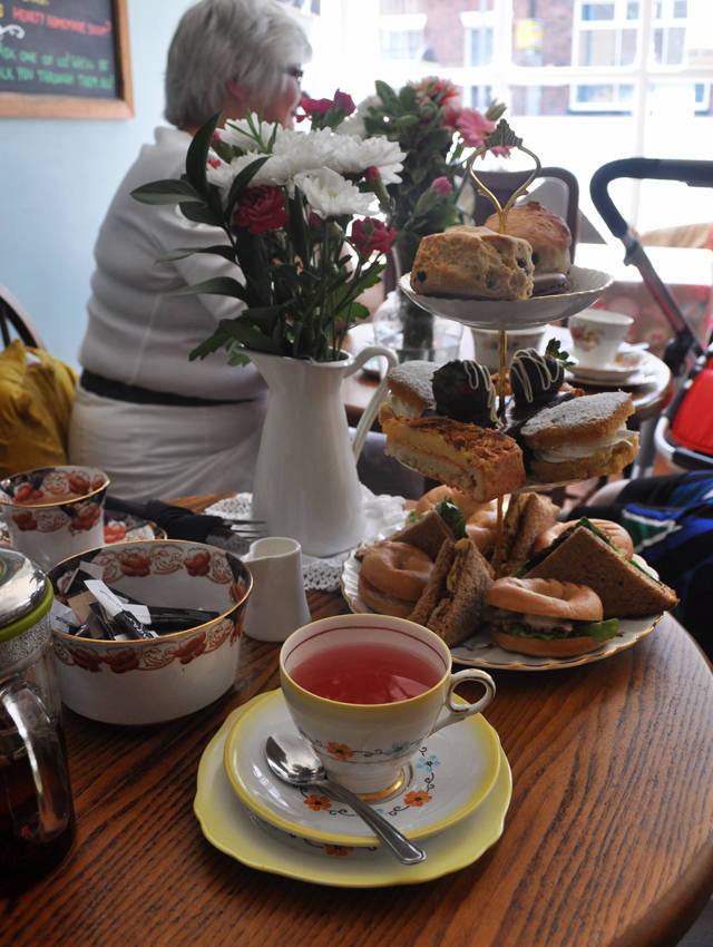 Cuthberts Bakehouse Afternoon Tea Liverpool 1