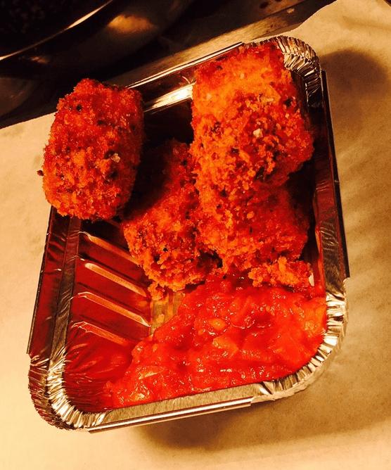 fried lasagne