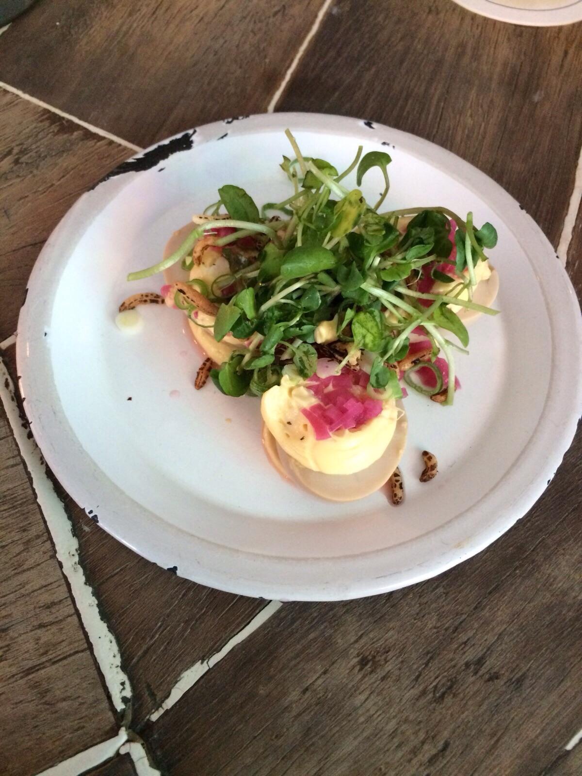 mary celeste devilled eggs
