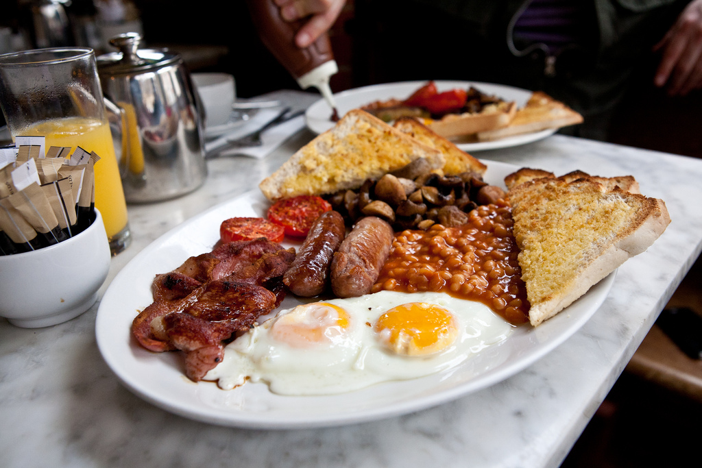 jazz cafe full english