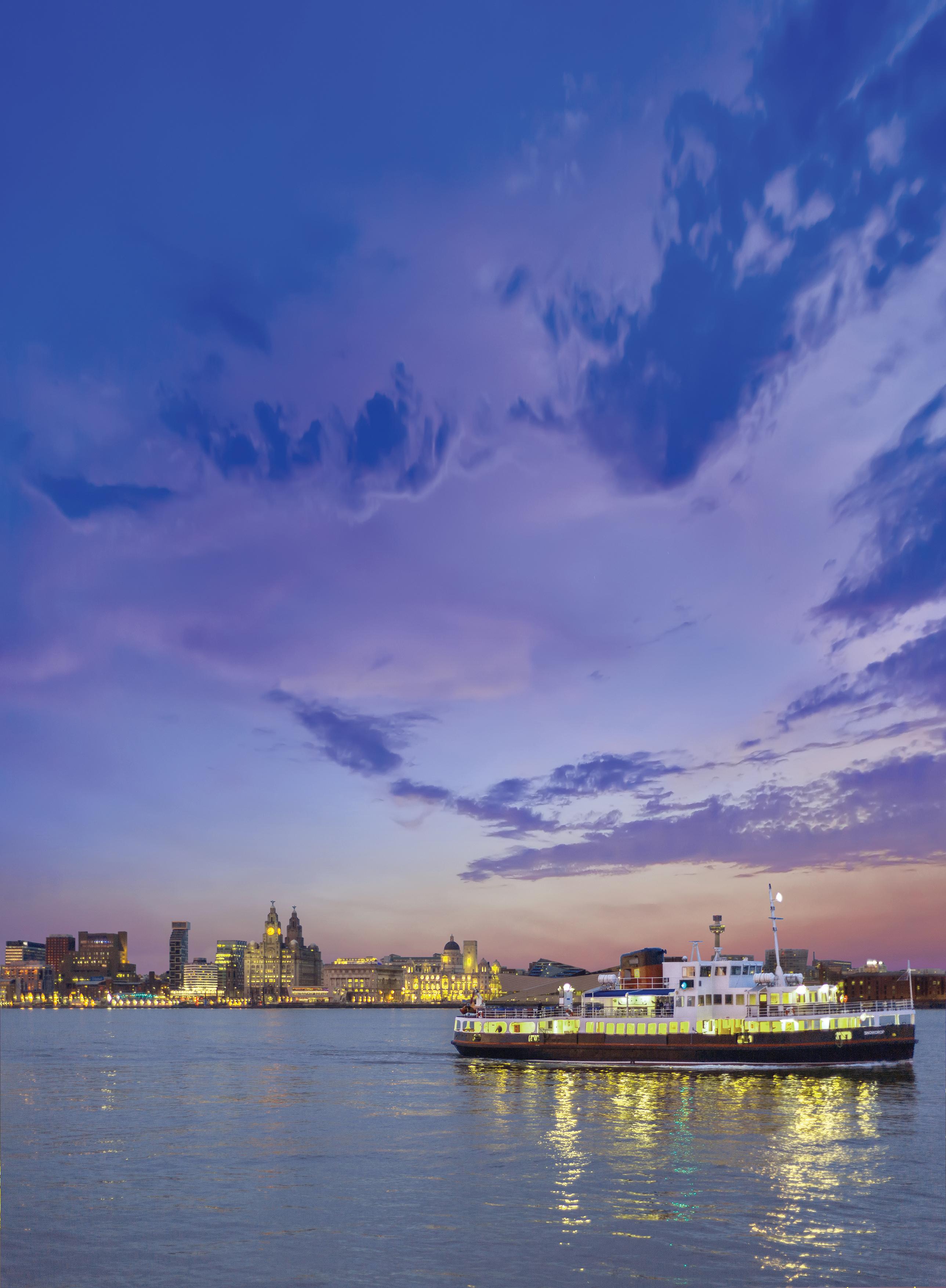Summer cruise ferry image