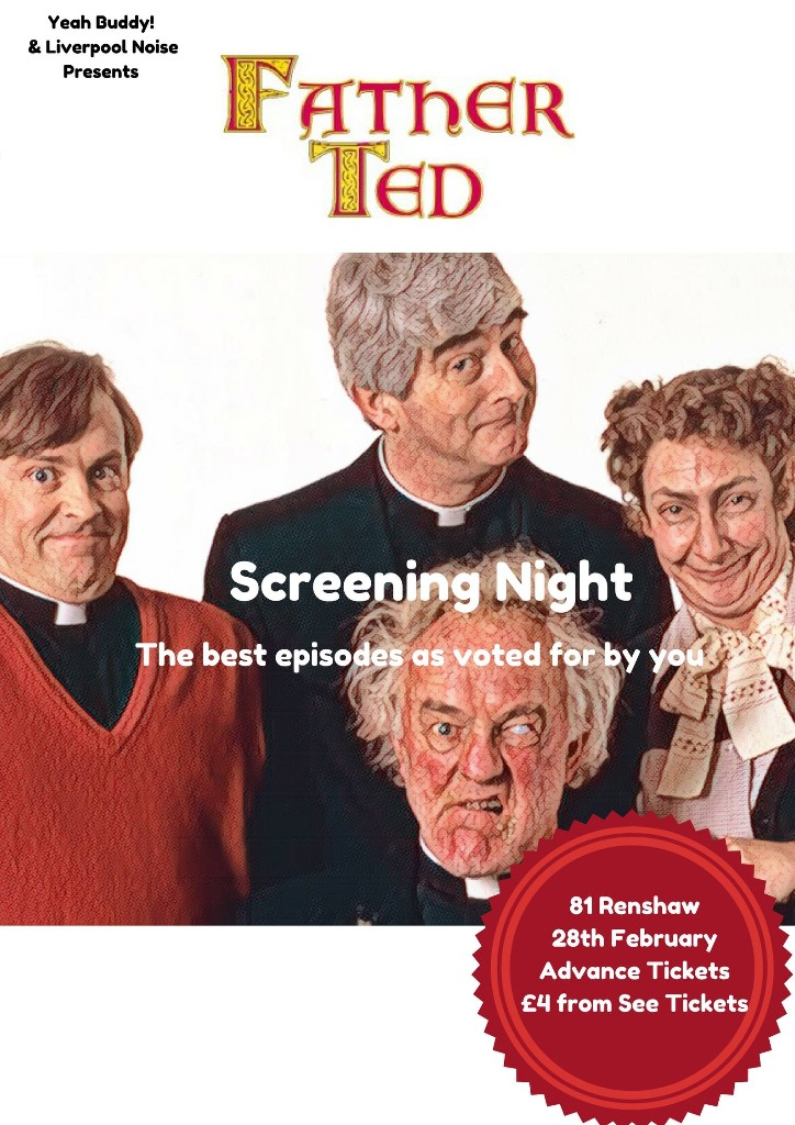 A Best Of Father Ted Screening Is Happening In Liverpool
