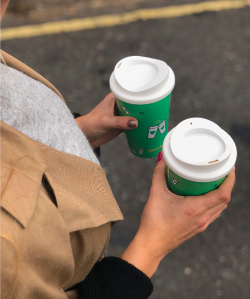 Good to Go Lets You Borrow a Reusable Coffee Cup to Cut Down